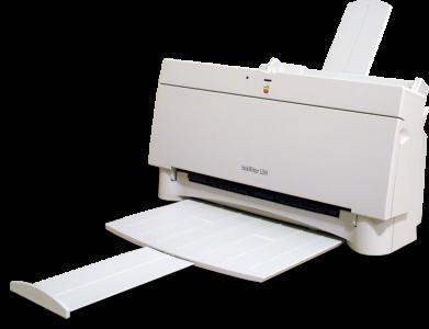 Apple zijn eerste inkjet printer.
