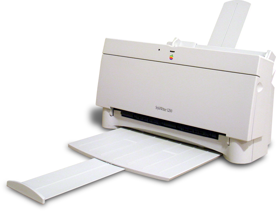 De Fascinerende Geschiedenis Van De Apple Printers