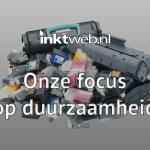 Duurzaamheid bij Inktweb.nl
