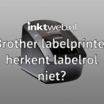Brother labelprinter herkent huismerk labels niet