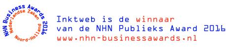 Inktweb.nl wint publieksprijs op NHN Business Awards uitreiking