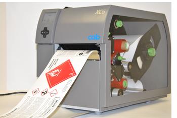 Een thermische kleuren printer, deze print de individuele kleuren en kan niet de kleuren mengen.