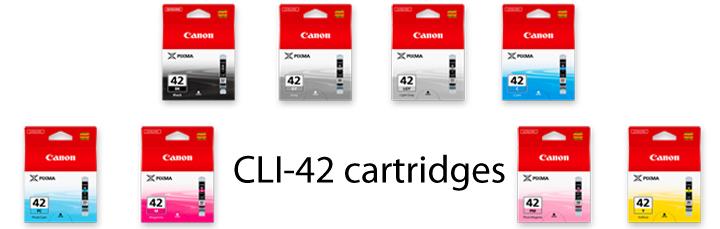 canon cli-42 cartridges