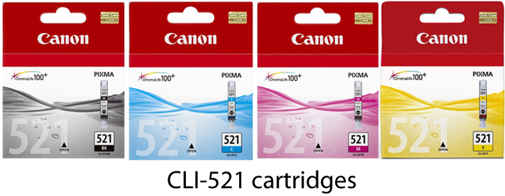 cli-521-inkt-cartridges