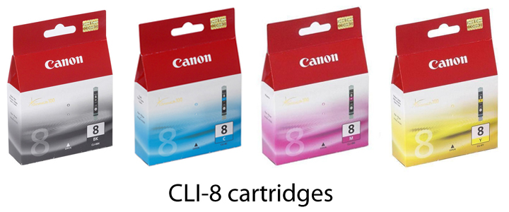 cli-8-inkt-cartridges