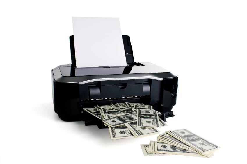 print money machine