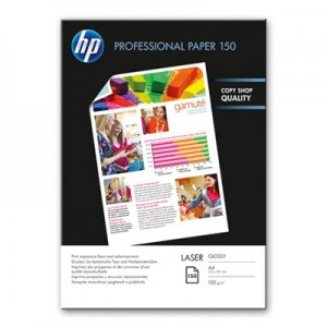 HP Glossy Paper. Fotopapier voor LaserPrinters.