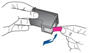 HP sticker/tape verwijderen
