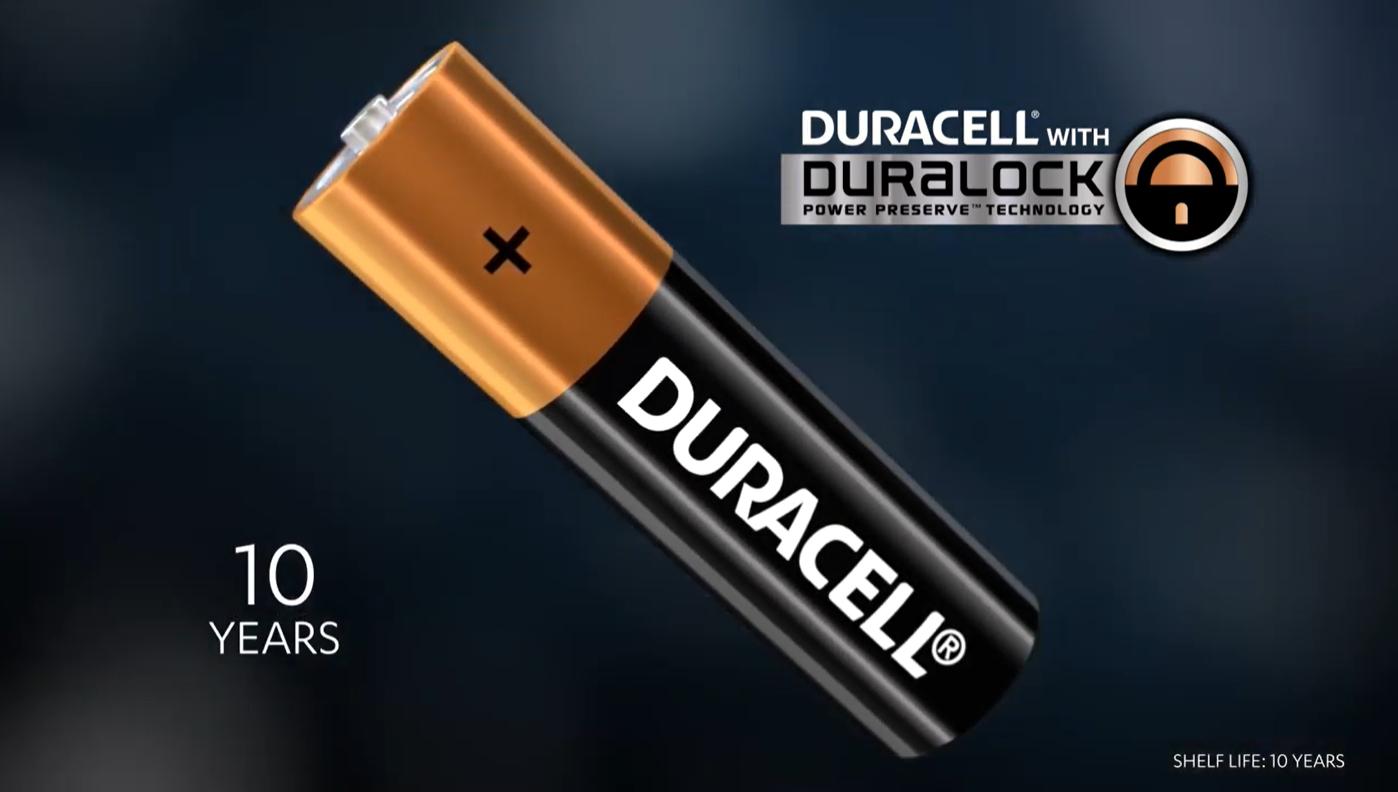 Duracell Duralock advertentie