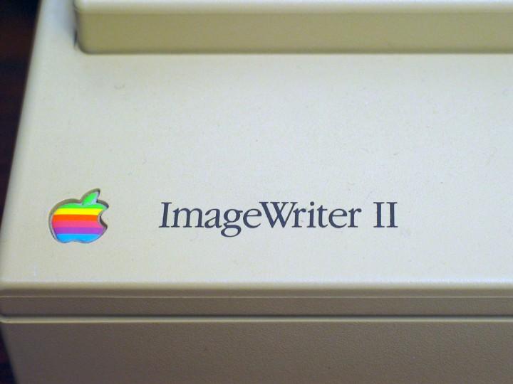 Matrix printers lijken wel alleen maar geel te worden. Via Flickr.