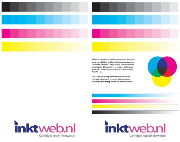 Inkjet Printer Testpagina [Gratis PDF]