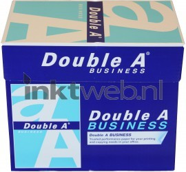 Double A Business A4 Papier 5 pakken (75 grams) wit DAP75B