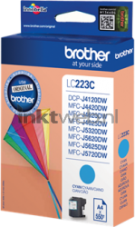 Brother LC-223C cyaan LC223C