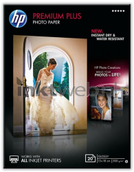 HP Premium Plus glanzend wit CR676A