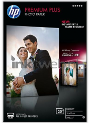 HP Premium Plus glanzend wit CR677A