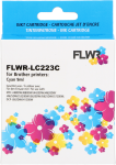 FLWR Brother LC-223C cyaan