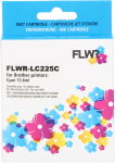 FLWR Brother LC-225C cyaan