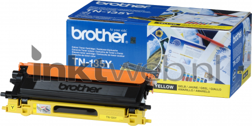 Brother TN-135Y geel TN135Y