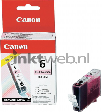 Canon bci 6pm foto magenta origineel - Origineel foto kind ...
