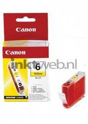 Canon BCI-6Y geel 4708A002