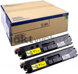 Brother TN-329Y 2-pack geel TN329YTWIN
