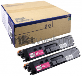 Brother TN-329M 2-pack magenta TN329MTWIN