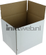 White label Postdozen Wit 150x120x120mm grijs