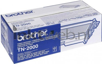 Brother TN-2000 zwart TN2000