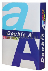 Double A Color print A4 Papier 1 pak (90 grams) wit 130307