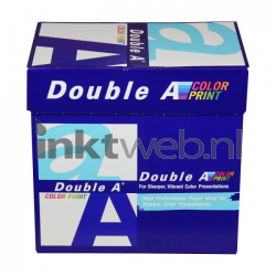 Double A Color print A4 Papier 5 pakken (90 grams) wit 130307D