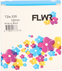 FLWR Brother TZe-335 wit CO-TZ-335