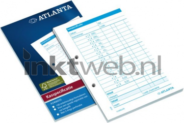 Atlanta kasspecificatie A6 100 vel 2540603500
