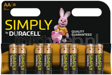 Duracell AA Simply Power MN1500DU8S