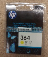 HP 364 (MHD) geel Front box Blister