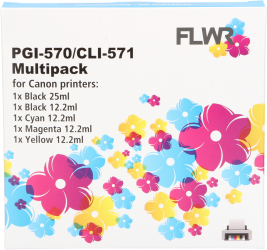 CLI-571 Multipack (FLWR-CLI-571MP)