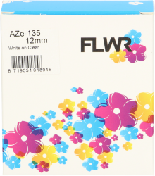 FLWR Brother TZE-135 wit FLWR-TZE-135