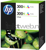 HP 300XL 2-pack kleur