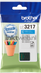 Brother LC-3217C cyaan