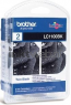 Brother LC-1100 Multipack zwart