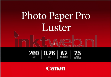 Canon LU-101 Pro Luster A2 wit 6211B026
