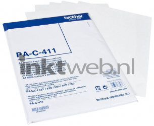Brother PA-C-411 A4 Thermisch Papier wit PA-C-411