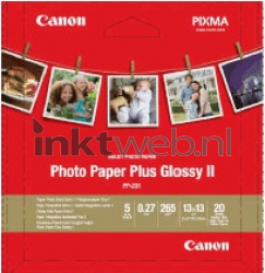 Canon PP-201 13 x 13 cm Photo Paper Plus wit 2311B060