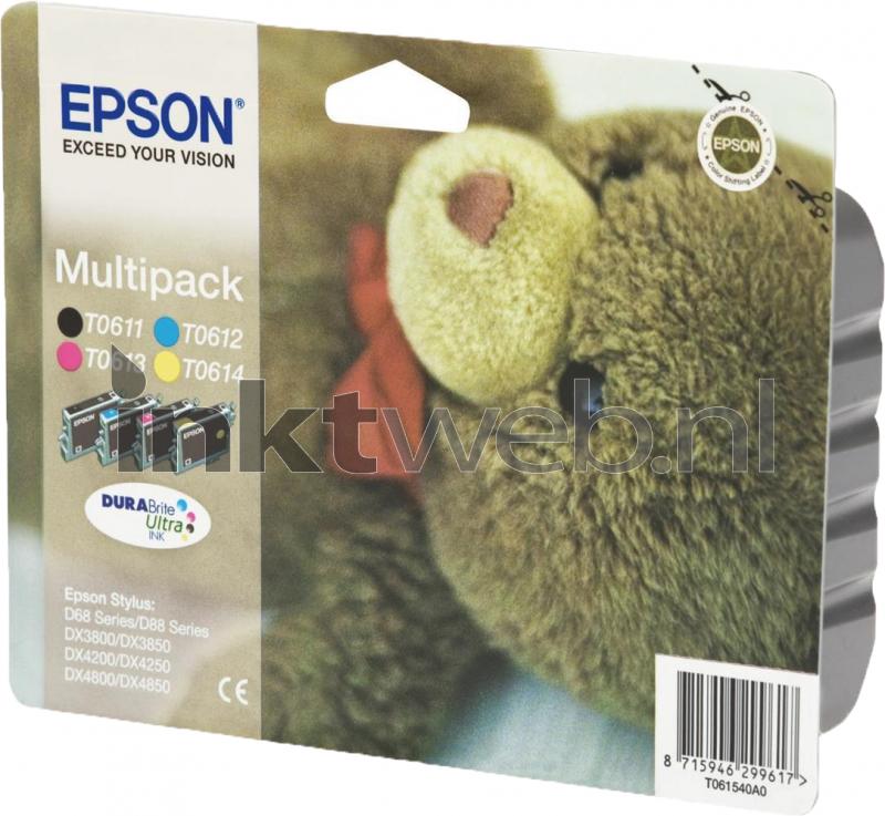 epson t0615 multipack kleur origineel. Black Bedroom Furniture Sets. Home Design Ideas