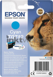 Epson T0712 cyaan C13T07124011