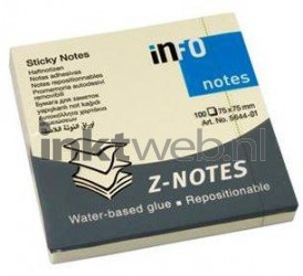 infoNotes Sticky Notes Z-Notes 75x75mm IN-5644-01