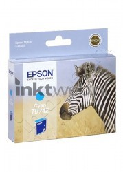 Epson T0742 cyaan C13T074240