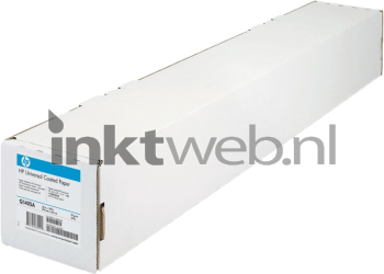 HP Coated Paper rol 36 Inch wit Q1405A