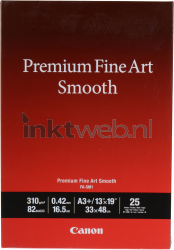 Canon Fine Art Smooth fotopapier A3+ wit 1711C004