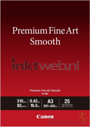 Canon Fine Art Smooth fotopapier A3 wit 1711C003