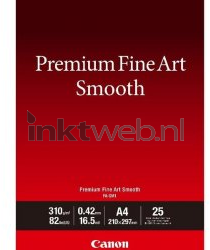 Canon Fine Art Smooth fotopapier A4 wit 1711C001